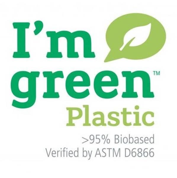 Liten Hinza veske Green plastic Olivengrønn
