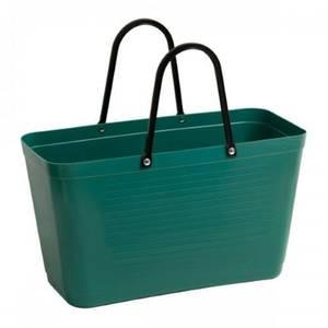 Bilde av Stor Hinza veske Green plastic Mørkgrønn